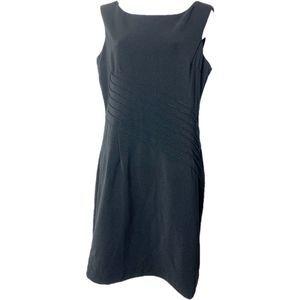 Boston Proper Little Black Dress Career Sheath 8
